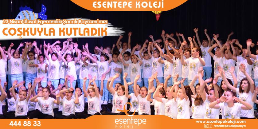 23 Nisan Ulusal Egemenlik ve Çocuk Bayramı'mızı Coşkuyla Kutladık...